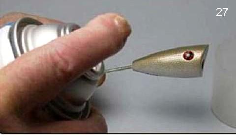 поппер из пенопласта на щуку