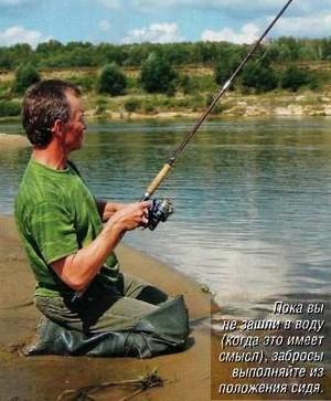 практика ловли жереха