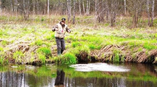 ловить спиннингом на малых реках